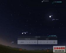 周末天宇将上演三体一线天文景观,其中月亮是主角之一