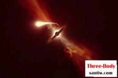 离地球最近潮汐破坏事件:黑洞撕碎吞噬恒星