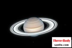 哈勃拍到土星夏季美景,行星环清晰可见