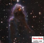 哈勃拍摄了一个特殊的恒星生成区