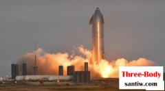SpaceX的星舰原型机SN8静态点火测试成功!