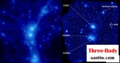 跨越5000万光年!天文学家在宇宙发现神秘气体弦